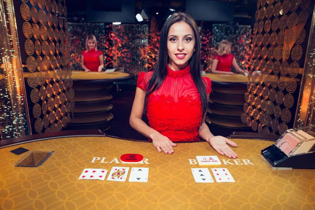 Punto Banco - Baccarat live spelen in een online casino