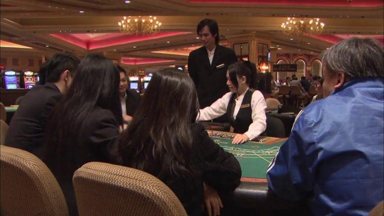 Baccarat spelen in Macau